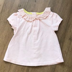 💥$5 add on💥 Mini Boden Broderie pink ruffle